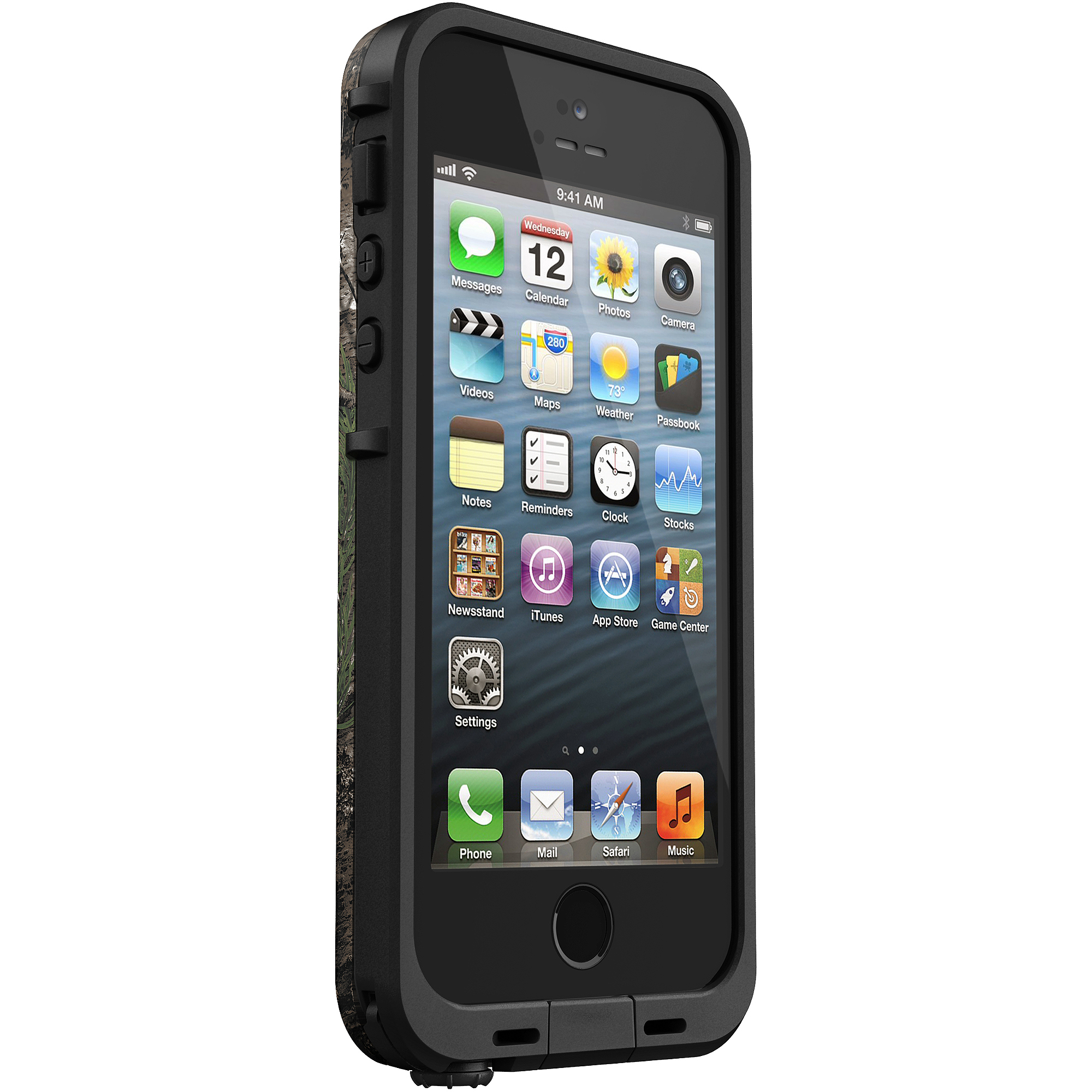 reputable site e4470 95a3e iPhone 5/5SE/5S Lifeproof fre case, black
