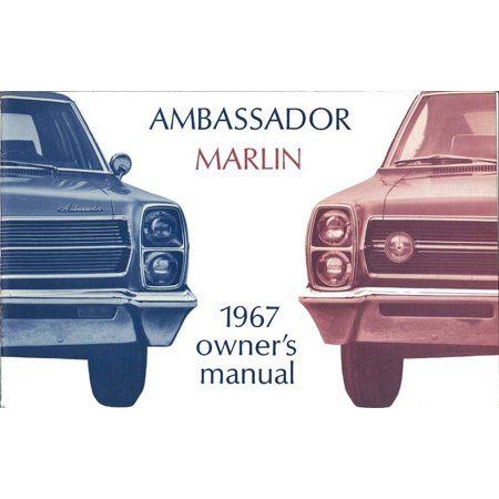Bishko OEM Maintenance Owner's Manual Bound for Amc Ambassador, Marlin 1967