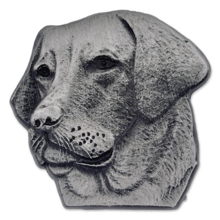 PinMart's Silver 3D Labrador Retriever Dog Breed Dog Lover Lapel Pin ()