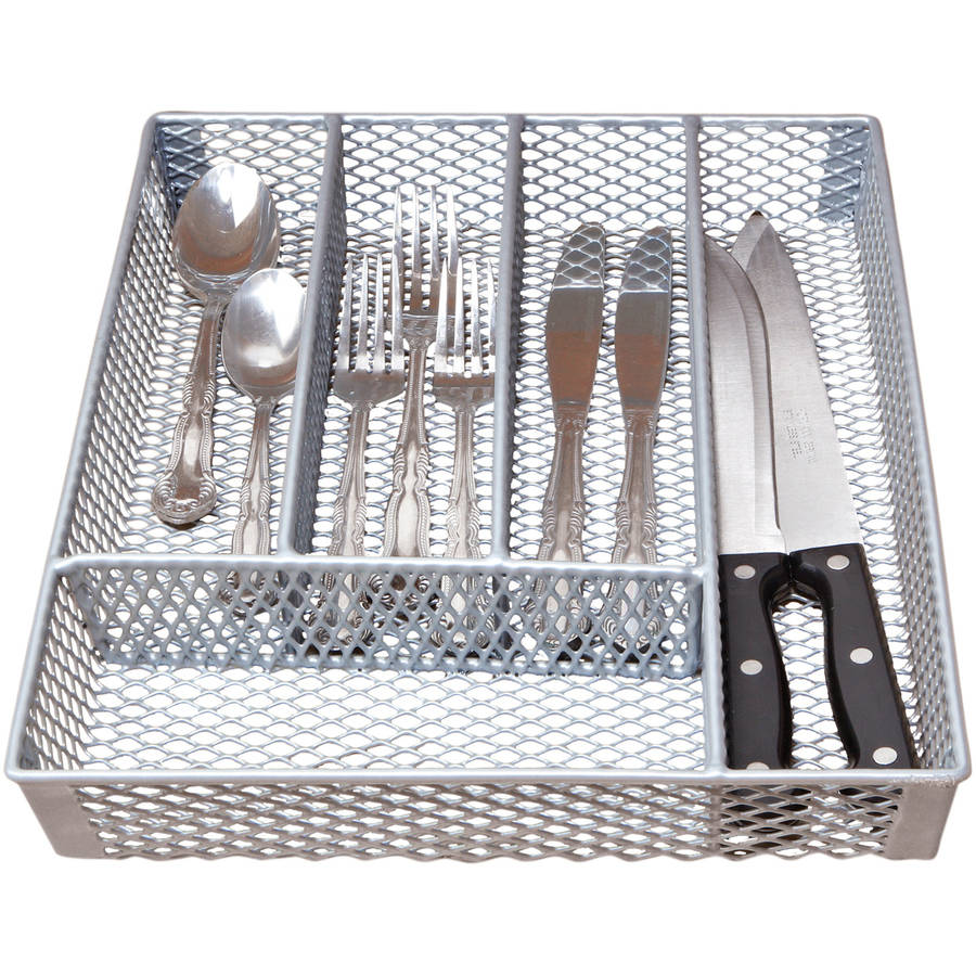 Grey Small Cutlery Tray