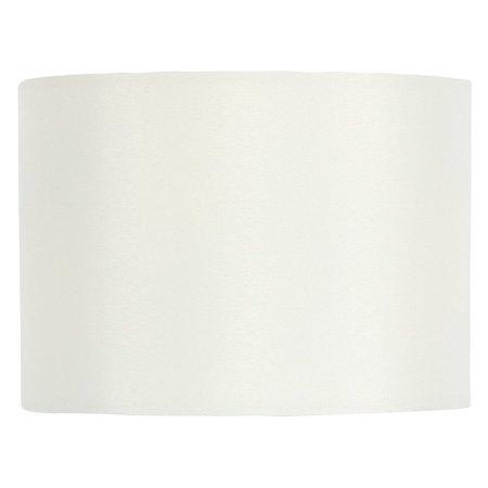 - Eggshell Silk 4 Inch Wall Sconce Shield Lamp Half Shade