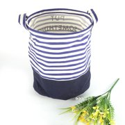 Zaqw Foldable Round Cloth Laundry Basket Large Home Dirty Clothes Collect Hamper Closet Storage, Storage Hamper, Cloth Hamper