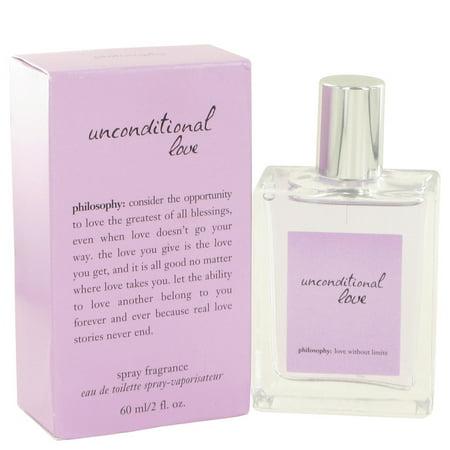 Unconditional Love by Philosophy - Eau De Toilette Spray 2 oz