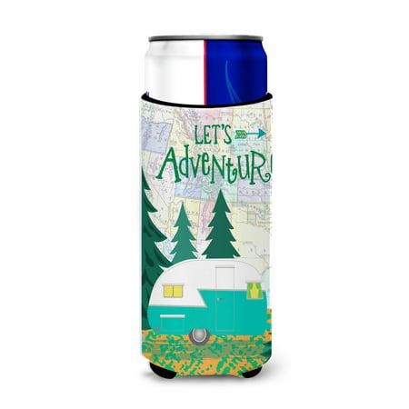 Let's Adventure Glamping Trailer Ultra Beverage Insulators for slim cans VHA3003MUK ()