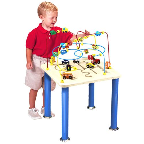 Children's Traffic Jam Rollercoaster Play Table