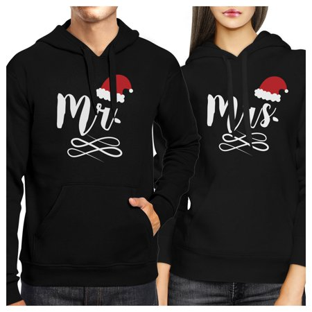Cute Christmas Ideas For Couples.Mr And Mrs Christmas Hat Couple Hoodies Cute Christmas Gifts Ideas