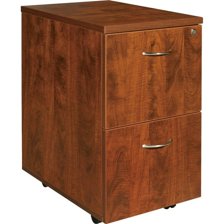 2 Drawers Vertical Wood Composite Lockable Filing Cabinet,