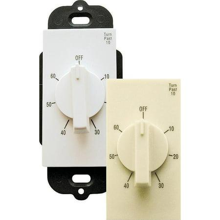 Air King AKT60 Electronic Delay Timer, 120 V, 15 A, 1 - 60 min