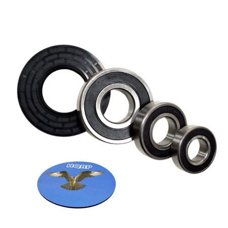 - HQRP Bearing and Seal Kit for Whirlpool GHW9250MW0 GHW9250MW1 GHW9250MW2 GHW9300PW0 GHW9300PW1 GHW9300PW2 Front Load Washer Tub + HQRP Coaster