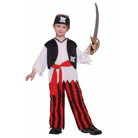 Boys Pirate Costume - Pirate Makeup For Men