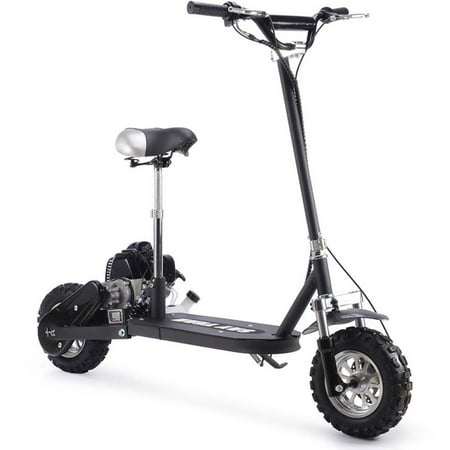 Say Yeah 49cc Stand up Gas Powered Scooter with Seat - Gas Stand