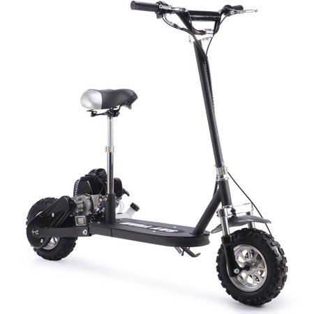 Say Yeah 49cc Stand up Gas Powered Scooter with Seat Black