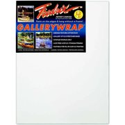 Fredrix Gallerywrap Duck Acid-Free Double-Primed Stretched Canvas, Multiple Sizes