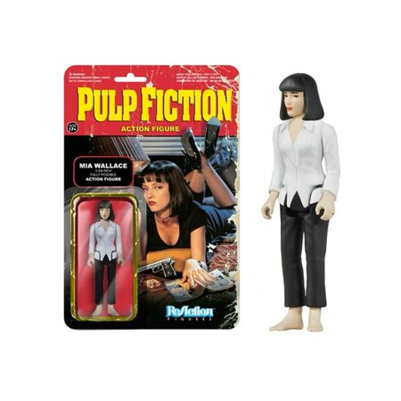 Pulp Fiction Series 1 - Mia Wallace ReAction Figure, 100% Toy By FunKo - Pulp Fiction Mia Wallace Halloween