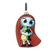 Disney Parks The Nightmare Before Christmas Sally Glass Ornament New with Tags