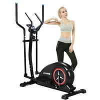 SKONYON Elliptical Exercise Machine Magnetic Control Silent Home Elliptical Trainer Gym