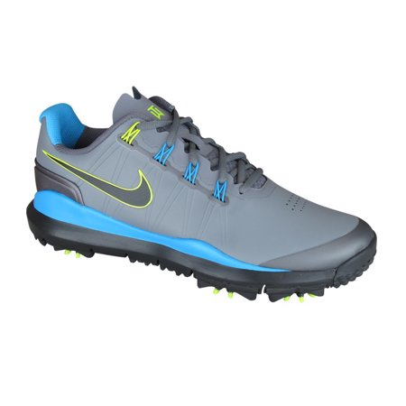 Nike Tw 14 Tiger Woods Mens Golf Shoes   Cool Grey Blue Grey