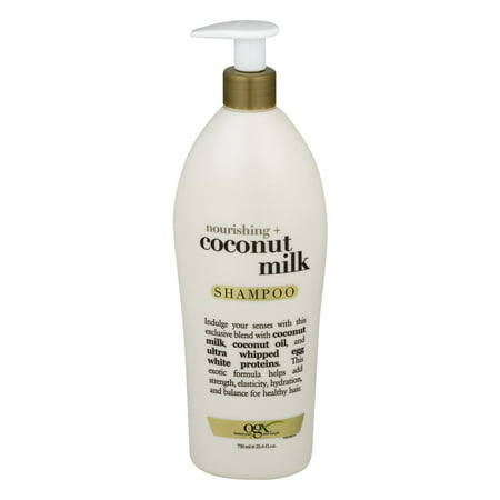 OGX Nourishing Coconut Milk Shampoo, 25.4 Oz