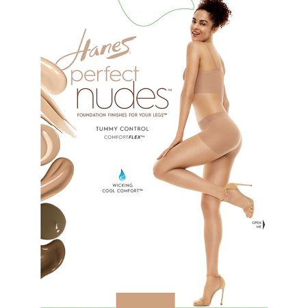 Perfect Nudes™ Run Resistant Tummy Control Girl Short Hosiery
