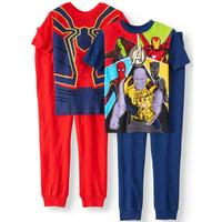 Boys' Avengers 4 Piece Pajama Sleep Set (Little Boy & Big Boy)