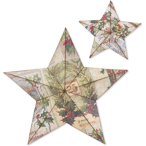 Sizzix Bigz Large Die by Tim Holtz Alterations, 3-D Star Bright