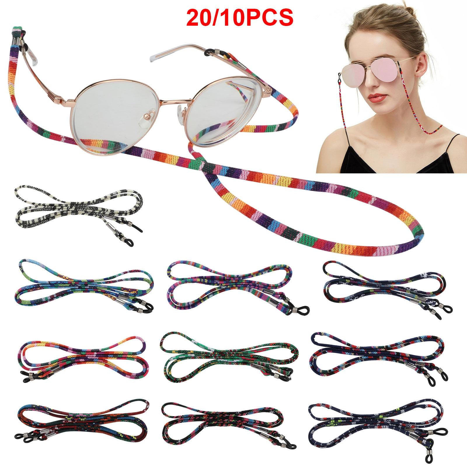 10 Colors Glasses Cord Lanyard Bekith 20 Pack Eyeglasses Strap Cord Premium Sunglasses Eyewear Retainer