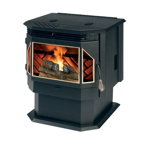 England's Stove Works Evolution 2,000 sq. ft. Direct Vent Pellet Stove by