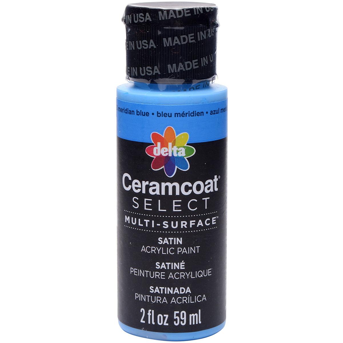 Ceramcoat Select Multi-Surface Paint 2oz-Meridian Blue