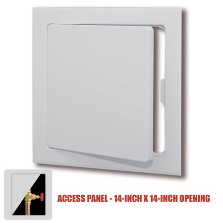 Plastic Easy-Snap Wall or Ceiling Access Panel for 14