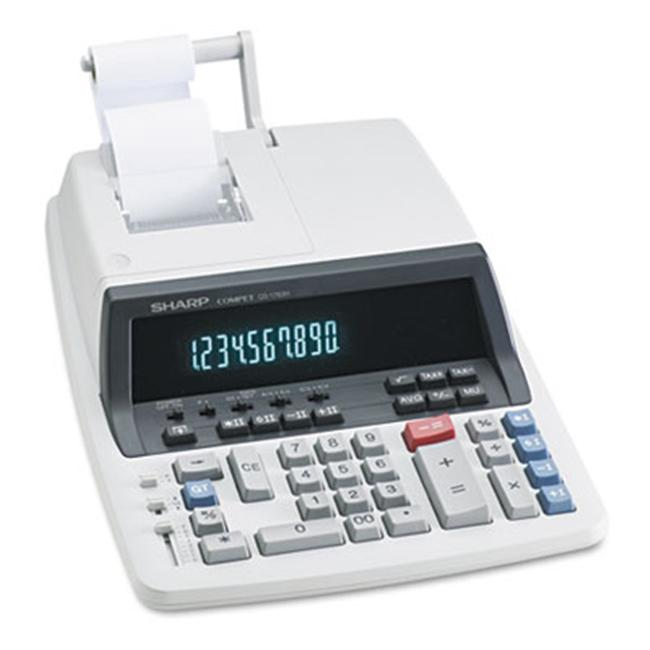 Sharp QS1760H QS-1760H Desktop Calculator  10-Digit Fluorescent  Two-Color Printing