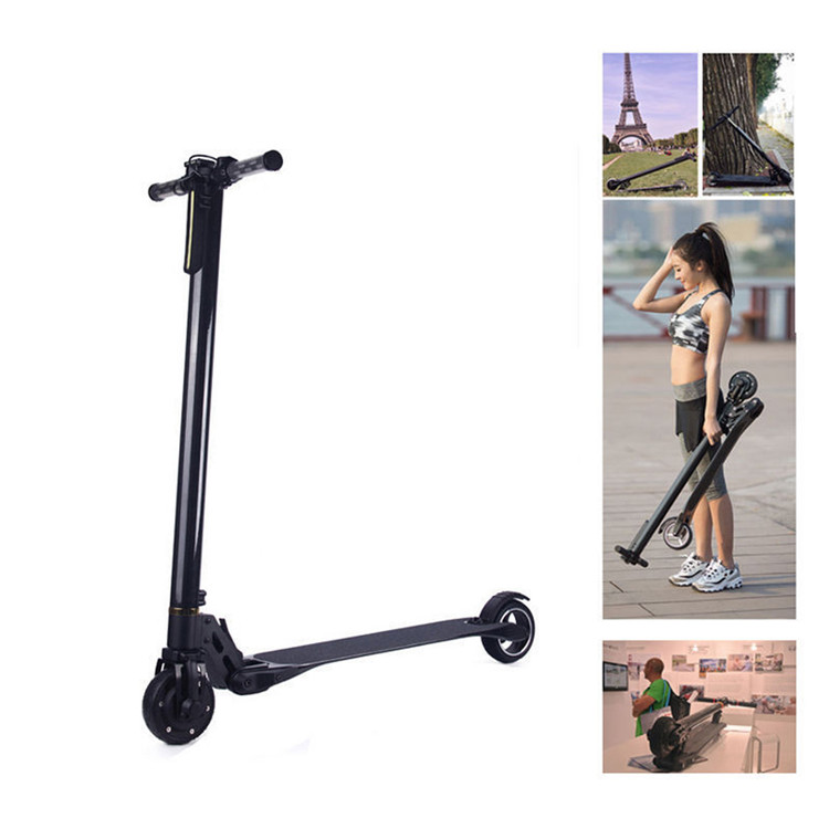 Strong Light Carbon Fiber Electric Scooter Glide Foldable...