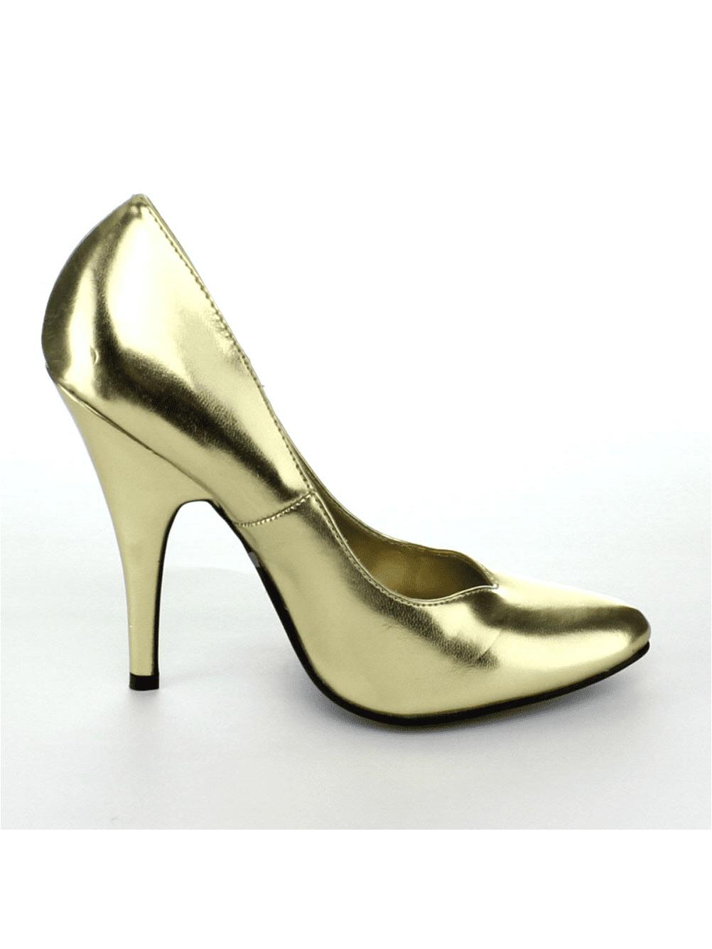 Ellie Shoes E-8220 5 Heel Pumps Blue / 6