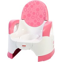 Fisher-Price Custom Comfort Adjustable Potty, Pink/White