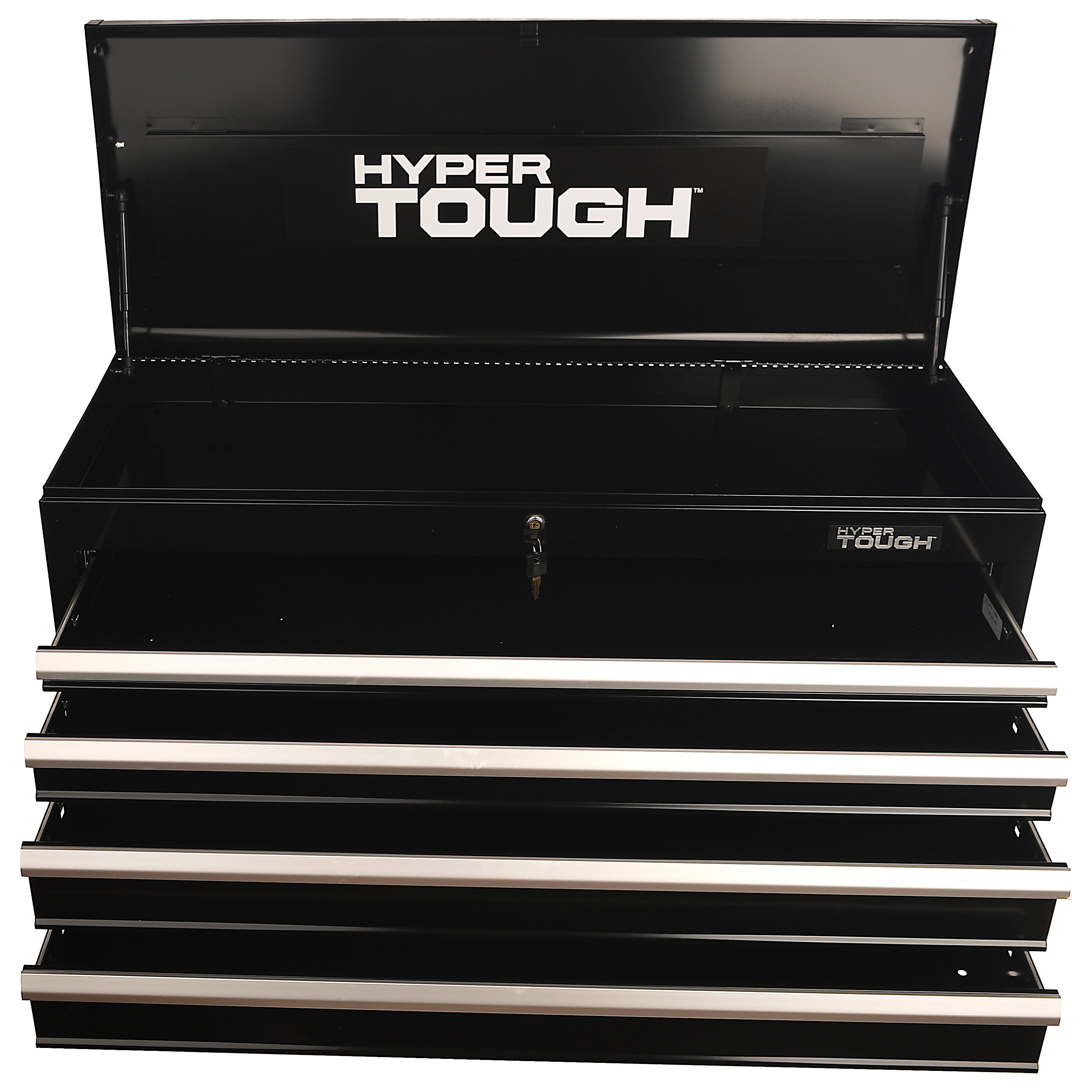 "Hyper Tough 41"" Wide 4-Drawer Tool Chest, Black"