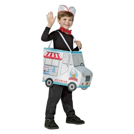 Boys Swirlys Ice Cream Truck - Truck Costume