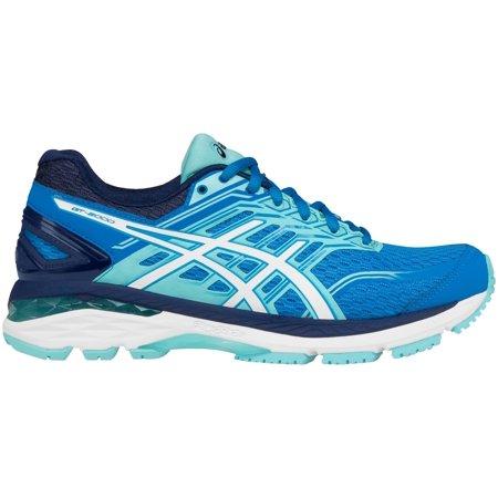 ASICS Women's GT-2000 5 Running Shoes (Blue, 8.5)