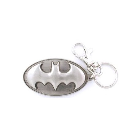 DC Comics Logo Pewter Key Ring
