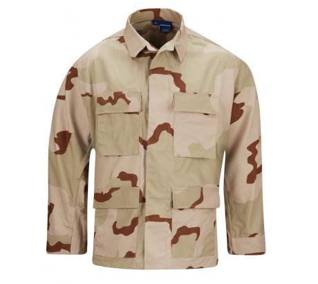 Propper BDU 4-Pocket Coat, 100% Cotton Ripstop, 2XL - Long, 3-Color Desert