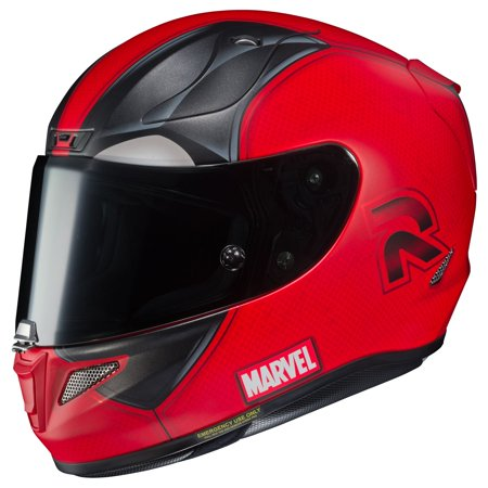 HJC RPHA-11 Pro Deadpool 2 Motorcycle Helmet Red