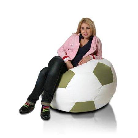 Furini Large Soccer Ball Bean Bag Chair