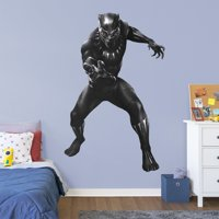 Fathead Avengers: Endgame - Black Panther - Life-Size Officially Licensed Marvel Removable Wall Decal