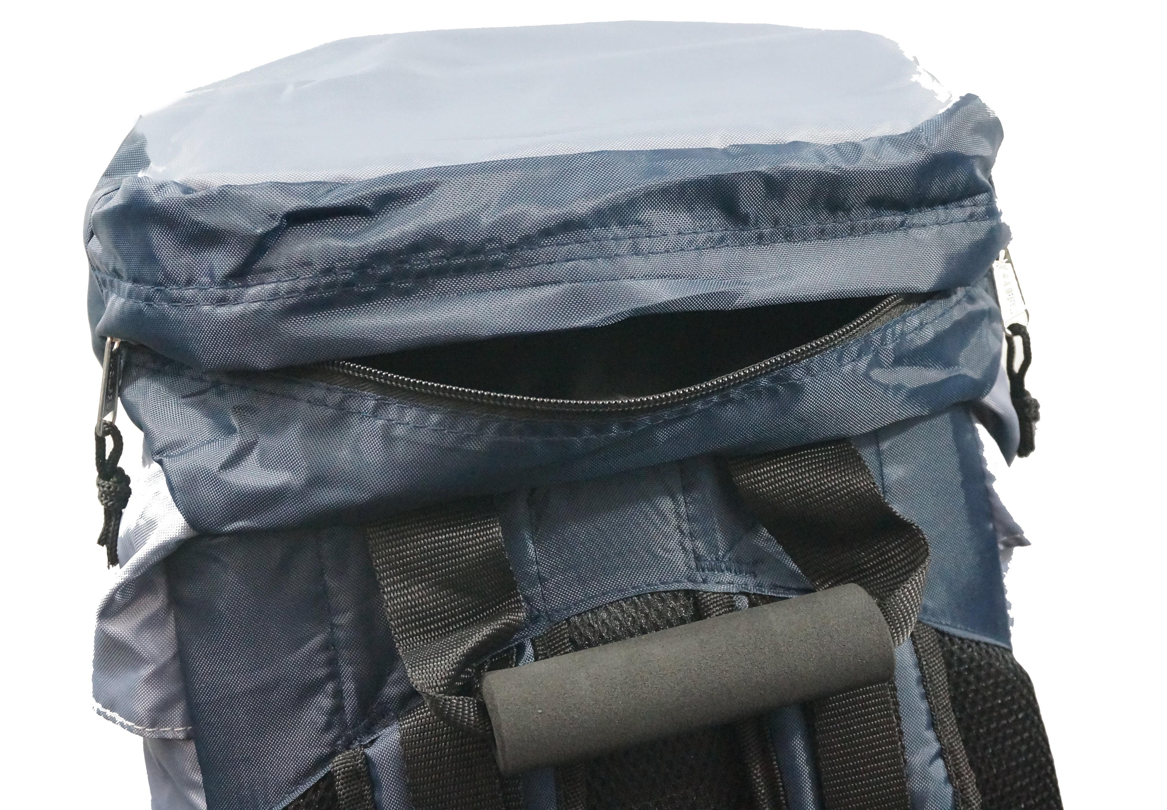 K Cliffs Hiking Backpack Scout Camping Backpack Large Internal Frame Daypack Travel Pack Bag Navy by K-Cliffs