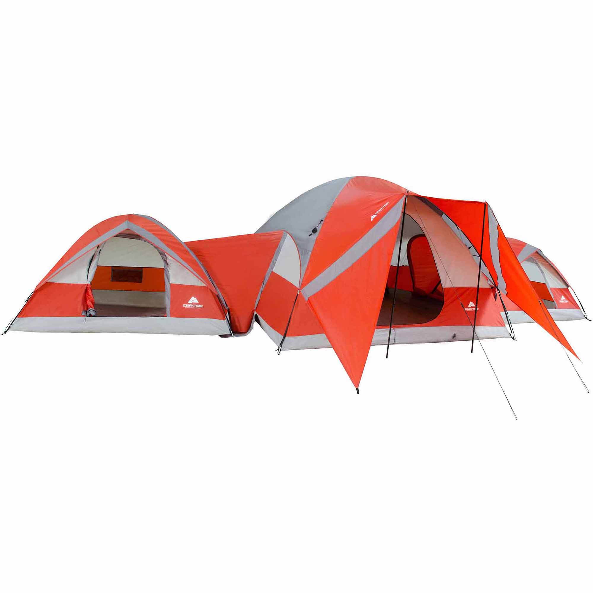 Ozark Trail ConnecTENT 10-person 3-Dome Tent  sc 1 st  Walmart & Ozark Trail ConnecTENT 10-person 3-Dome Tent - Walmart.com