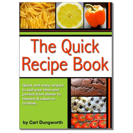 Quick Recipe Book: Main Meals, Desserts, Cookies and Cakes - eBook](Halloween Main Meals)