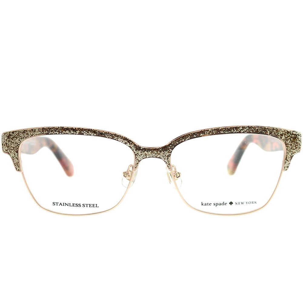 22f034487d1 KATE SPADE Eyeglasses LADONNA 0S41 Rose Gold Pink Havana 53MM - Walmart.com