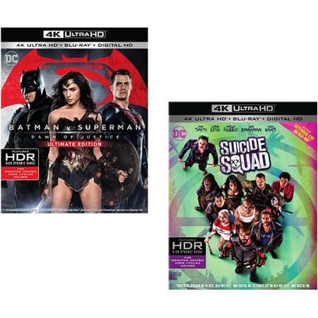 Suicide Squad + Batman V Superman: Dawn Of Justice (4K + Blu-ray + Digital HD)