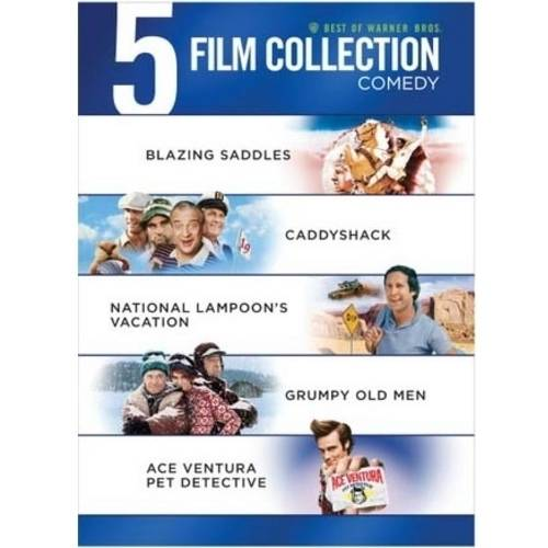 5 Film Collection: '80s Comedy - Ferris Bueller's Day Off / Planes, Trains And Automobiles / Airplane / The Naked Gun: From The Files Of Police Squad / Police Academy (DVD + Digital Copy) (Walmart Exclusive)