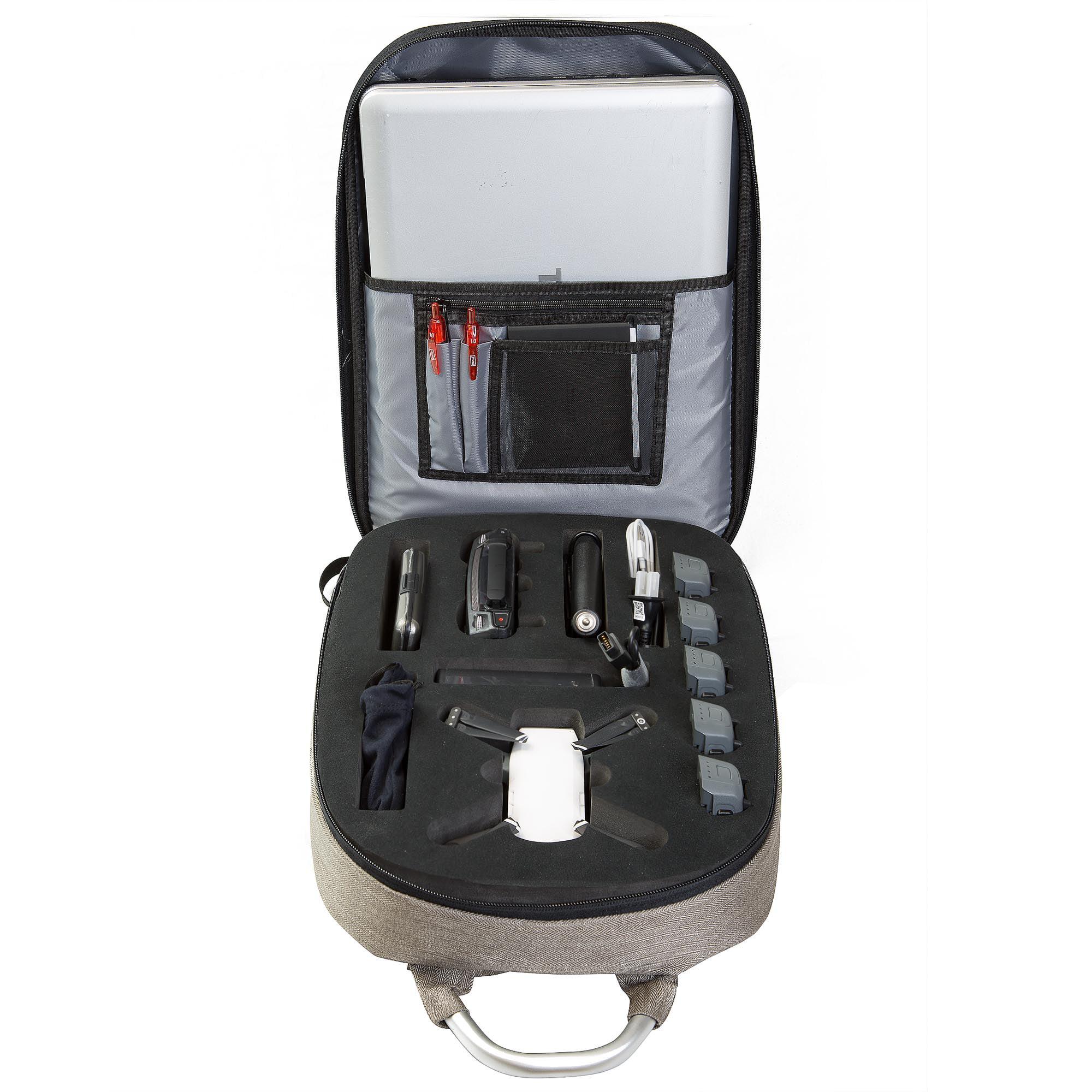 Ultimaxx Hard Shell Anti-choc Sac à dos Voyage Case pour DJI Spark Quadcopter Drones - image 1 de 7