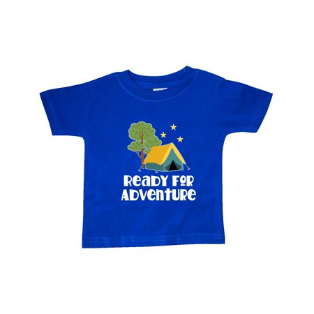 Camping Tent Ready for Adventure Baby T-Shirt