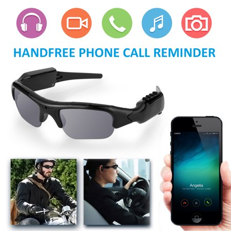 Sports Recording Camera Sunglasses Bluetooth 4 0 1080P 5 0M pixel HD Video  Recorder & Photograph Polarized Glasses Support Micro 32GB SD Card For